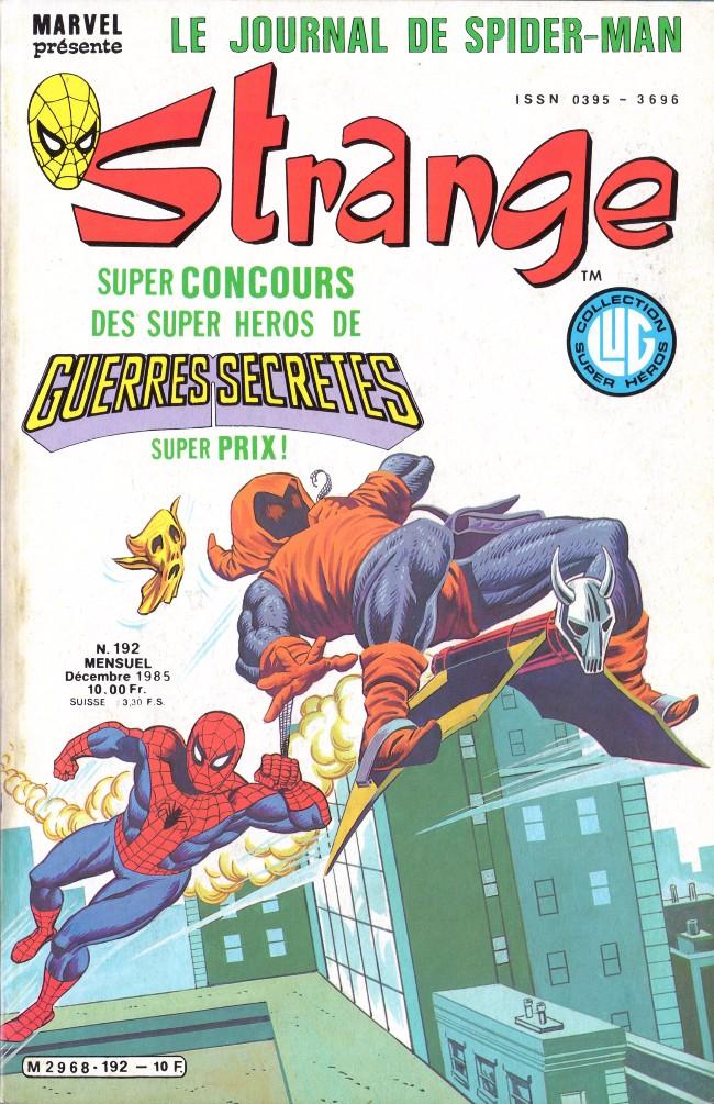 Couverture de Strange -192- Strange 192