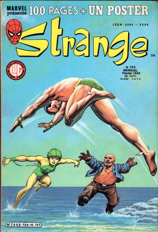 Couverture de Strange -194- Strange 194