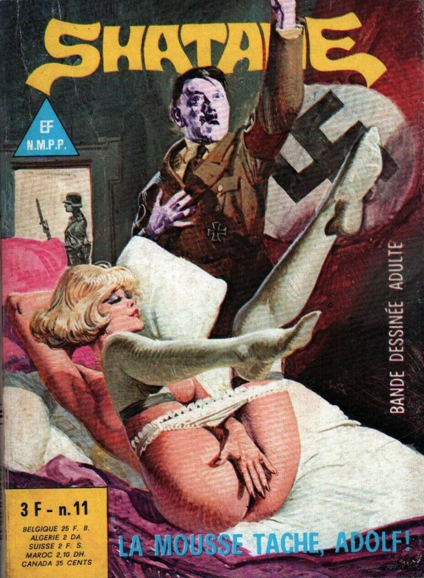 Couverture de Shatane -11- La mousse tache, Adolf !