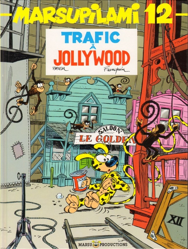 Couverture de Marsupilami -12- Trafic à Jollywood