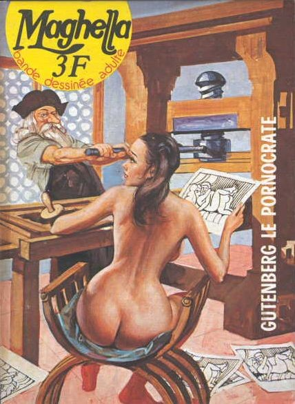 Couverture de Maghella -28- Gutenberg le pornocrate
