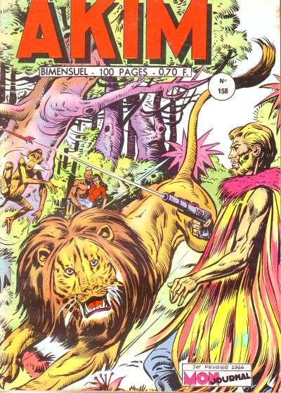 Couverture de Akim (1re série) -158- Le mystérieux sorcier