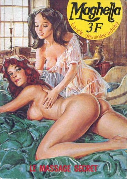 Couverture de Maghella -37- Le massage secret