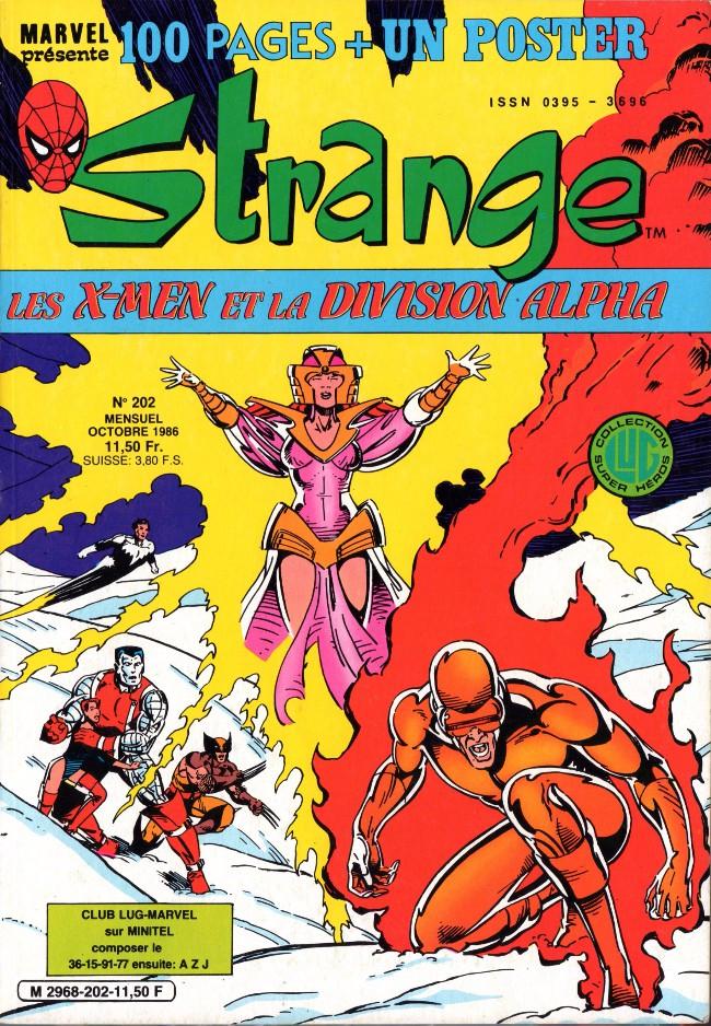 Couverture de Strange -202- Strange 202