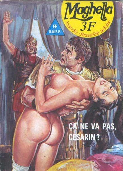 Couverture de Maghella -52- Ça ne va pas, Césarin ?!