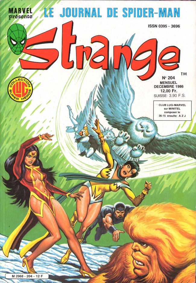 Couverture de Strange -204- Strange 204
