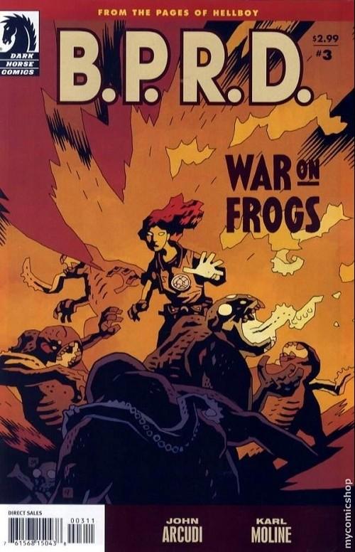 Couverture de B.P.R.D. (2003) -57- War on frogs 3