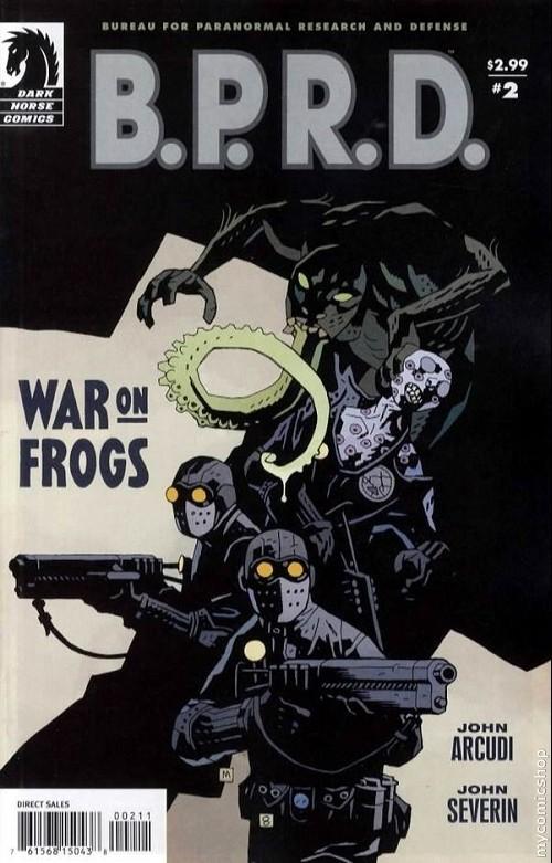 Couverture de B.P.R.D. (2003) -51- War on frogs 2