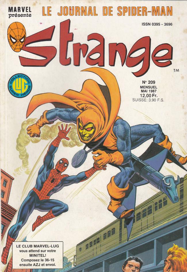 Couverture de Strange -209- Strange 209