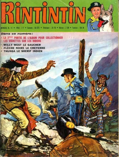 Couverture de Rin Tin Tin & Rusty (2e série) -11- Mensuel N°11