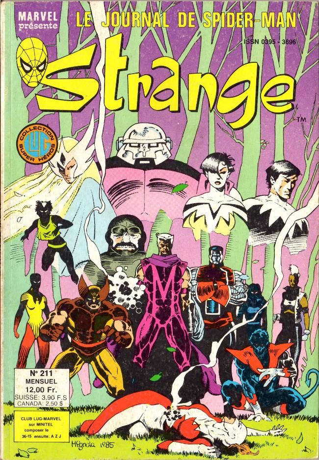 Couverture de Strange -211- Strange 211