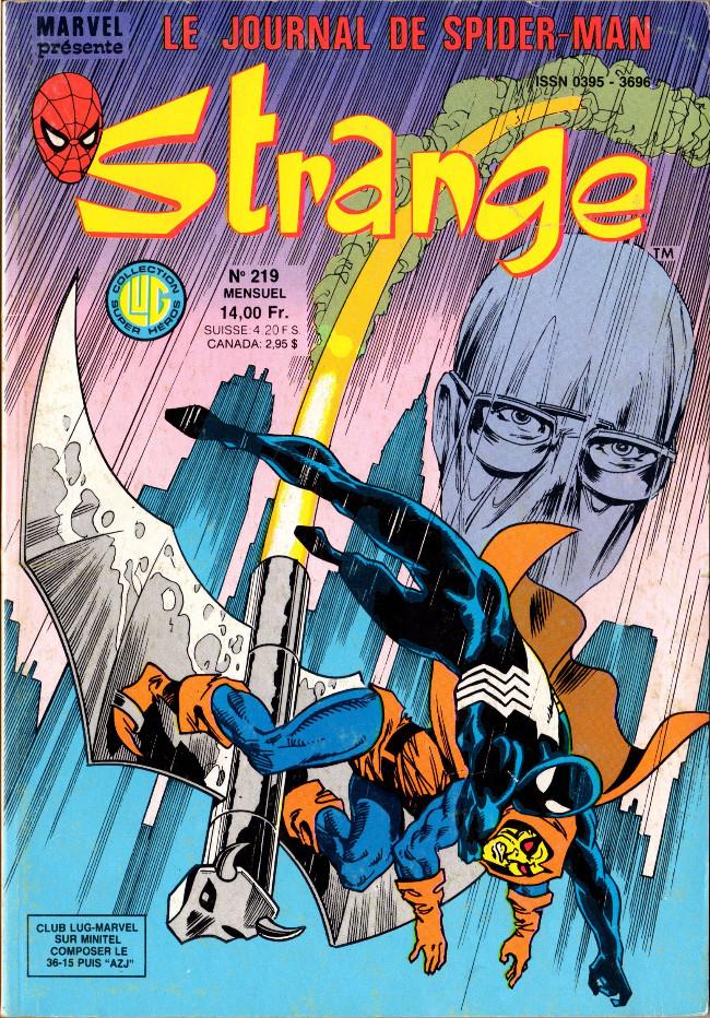 Couverture de Strange -219- Strange 219