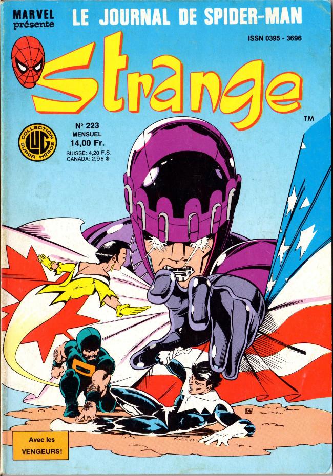 Couverture de Strange -223- Strange 223