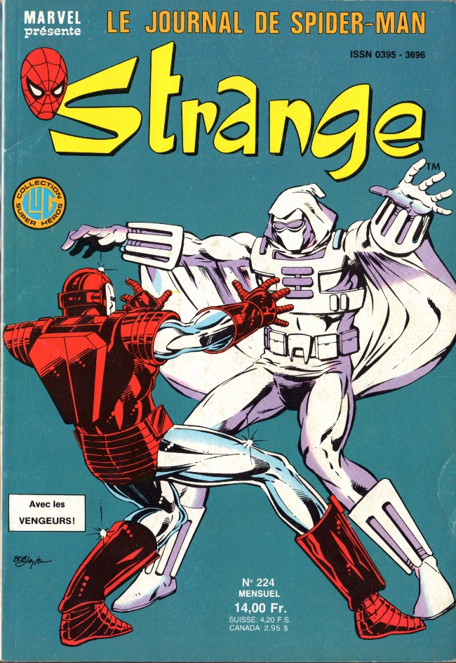 Couverture de Strange -224- Strange 224