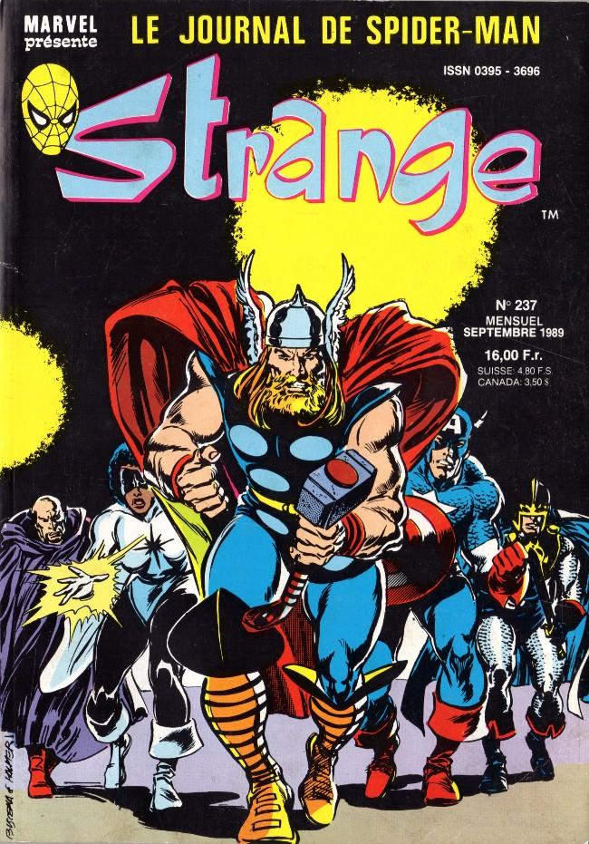 Couverture de Strange -237- Strange 237