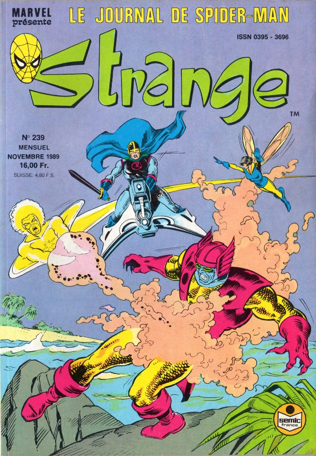 Couverture de Strange -239- Strange 239