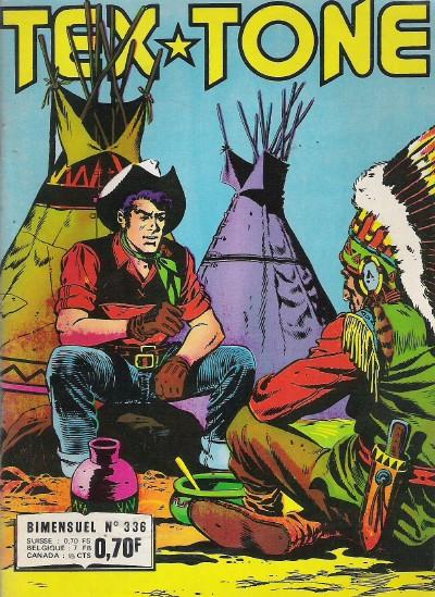 Couverture de Tex-Tone -336- Le coyote