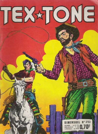 Couverture de Tex-Tone -353- Les maîtres chanteurs