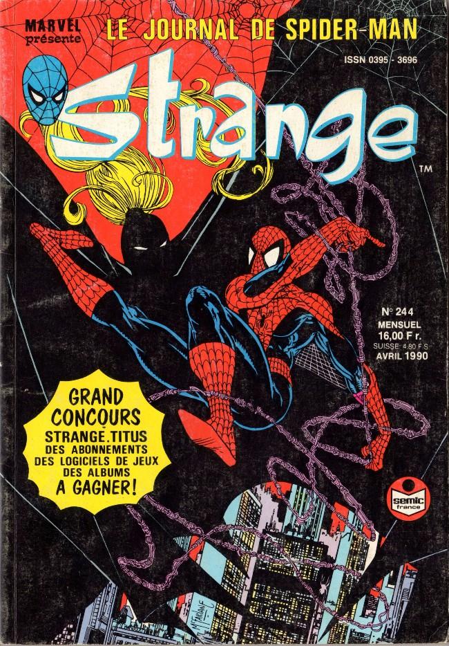 Couverture de Strange -244- Strange 244
