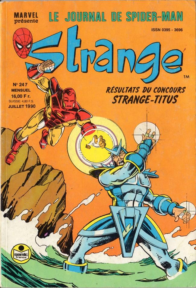 Couverture de Strange -247- Strange 247