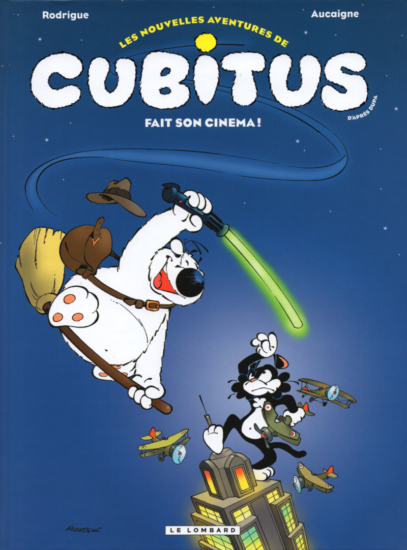 Couverture de Cubitus (Les nouvelles aventures de) -hs- Cubitus fait son cinéma !
