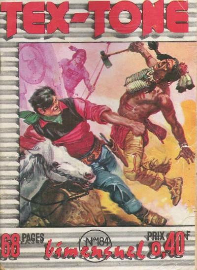 Couverture de Tex-Tone -184- Le vendeur de Dodge City
