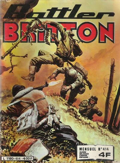Couverture de Battler Britton (Imperia) -414- Avec ses propres armes