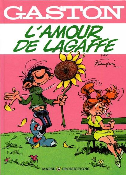 Couverture de Gaston (Hors-série) - L'amour de Lagaffe
