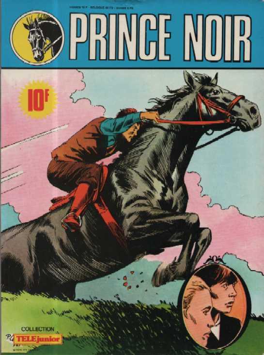 Couverture de Télé Junior (Collection) - Prince noir - Le Jumping de Windsor