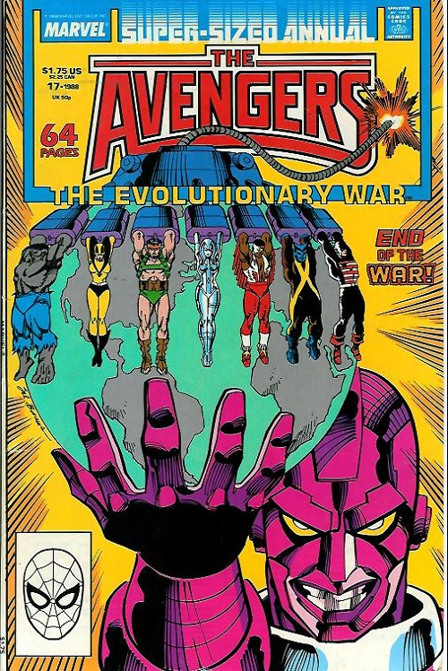 Couverture de Avengers (The) Vol. 1 (Marvel Comics - 1963) -AN17- The evolutionary war
