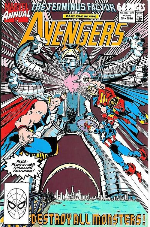 Couverture de Avengers Vol. 1 (Marvel Comics - 1963) -AN19- The terminus factor part 5