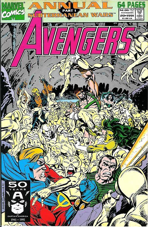Couverture de Avengers Vol. 1 (Marvel Comics - 1963) -AN20- Subterranean wars part 1