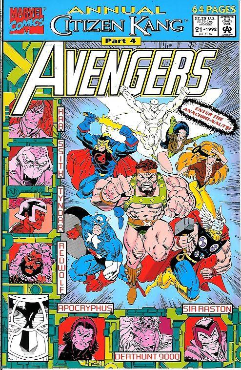 Couverture de Avengers Vol. 1 (Marvel Comics - 1963) -AN21- Citizen Kang part 4