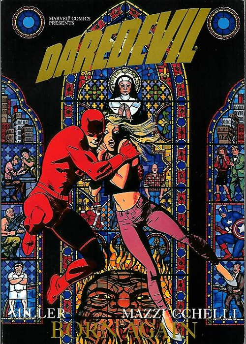 Couverture de Daredevil (1964) -INT- Born again