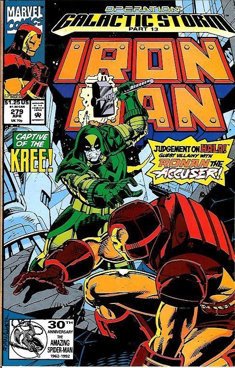 Couverture de Iron Man Vol.1 (Marvel comics - 1968) -279- Operation Galactic storm part 13