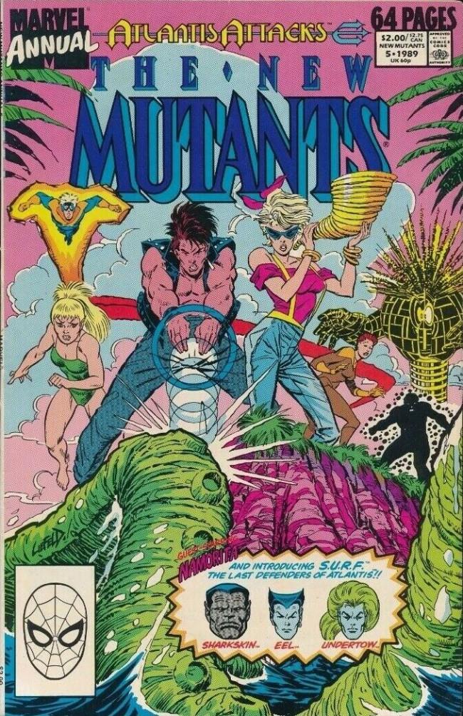 Couverture de New Mutants (The) (1983) -AN05- Atlantis attacks part 9