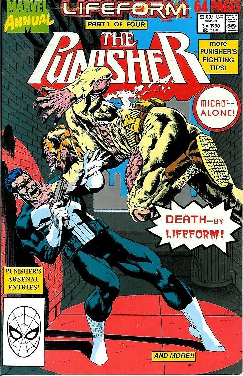 Couverture de Punisher (1987) (The) -AN03- Lifeform part 1