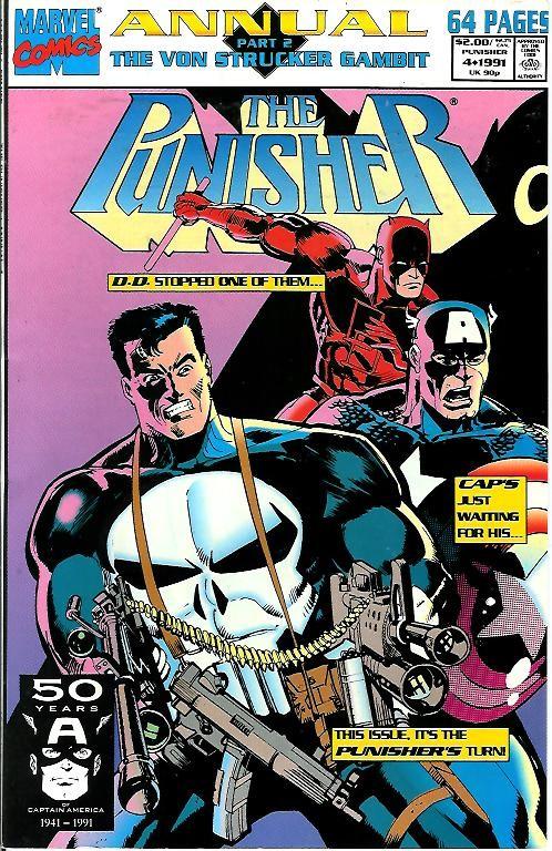 Couverture de Punisher Vol.02 (Marvel comics - 1987) (The) -AN04- The Von Strucker gambit part 2