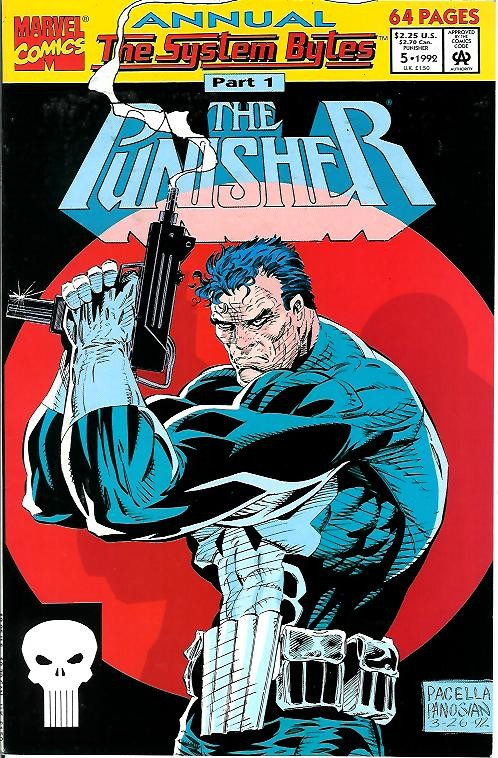 Couverture de Punisher (1987) (The) -AN05- The system bytes part 1