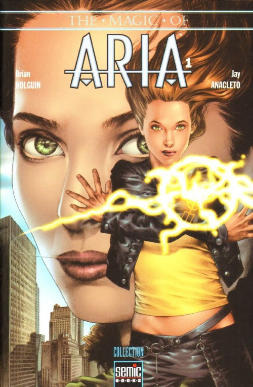 Couverture de Magic of Aria (The) -INT1- Aria US 1-2-3-4 (1)