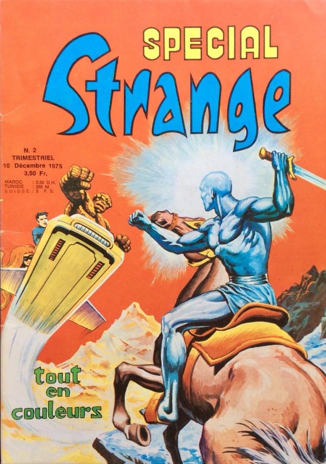 Couverture de Spécial Strange -2- Spécial Strange 2