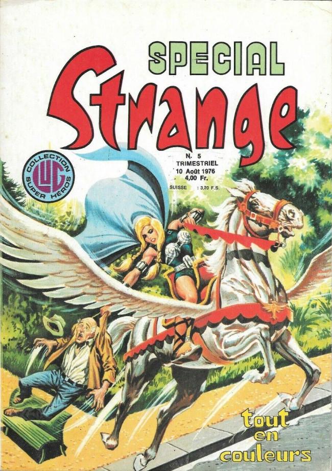 Couverture de Spécial Strange -5- Spécial Strange 5