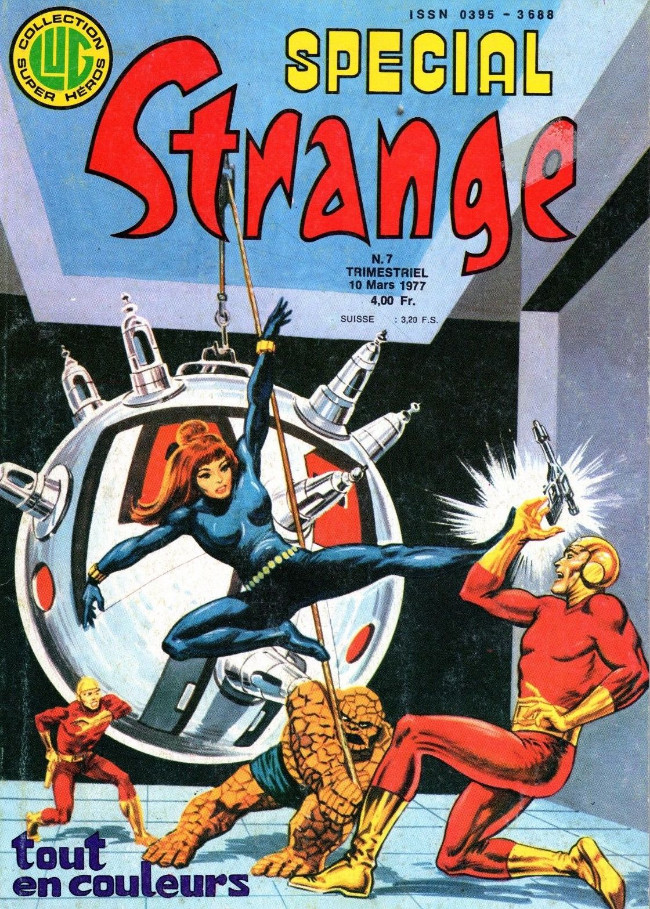 Couverture de Spécial Strange -7- Spécial Strange 7