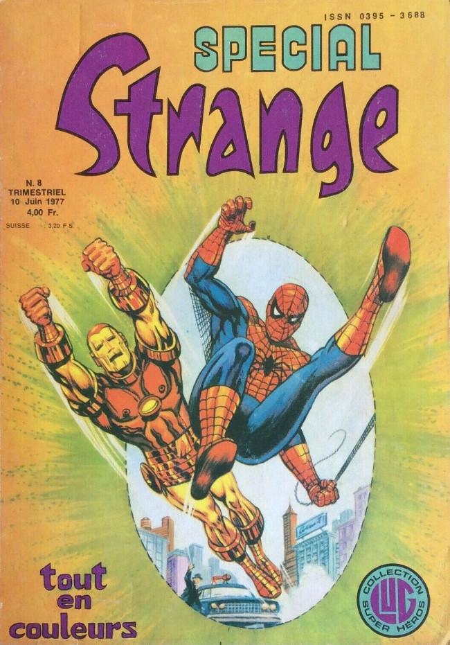 Couverture de Spécial Strange -8- Spécial Strange 8