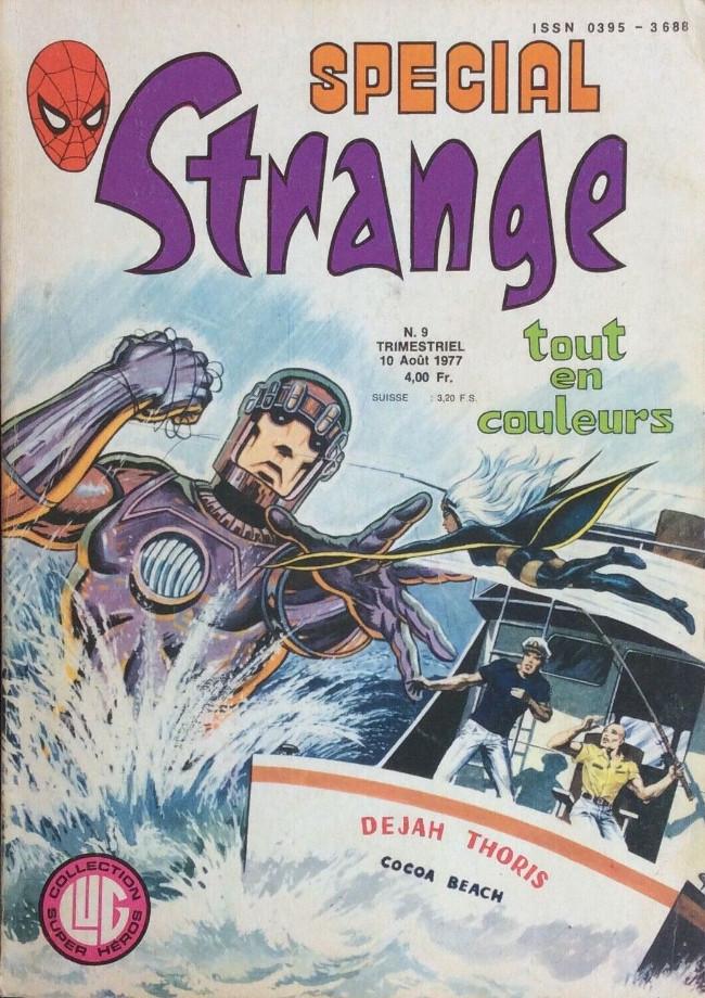 Couverture de Spécial Strange -9- Spécial Strange 9