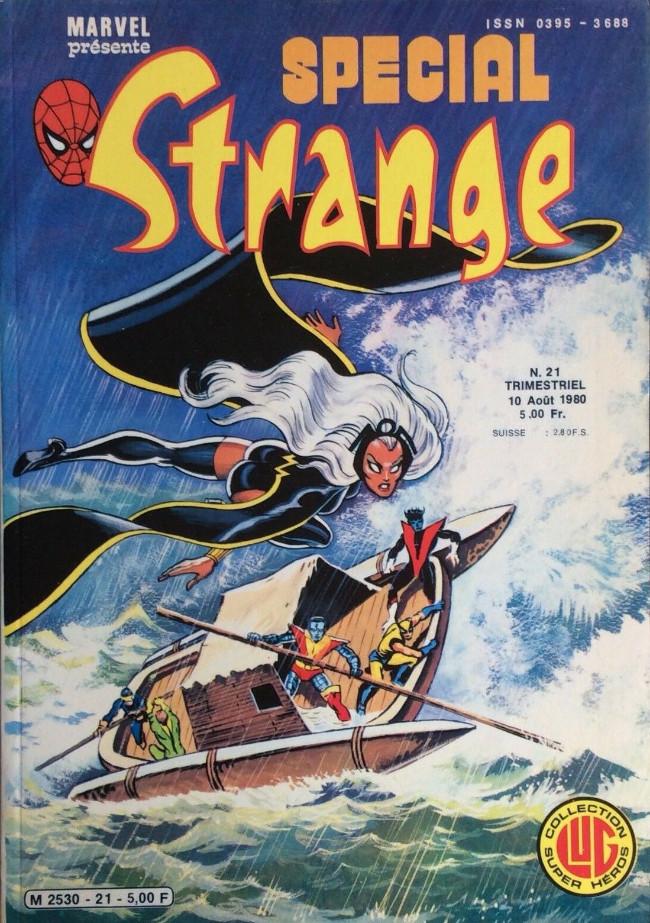 Couverture de Spécial Strange -21- Spécial Strange 21