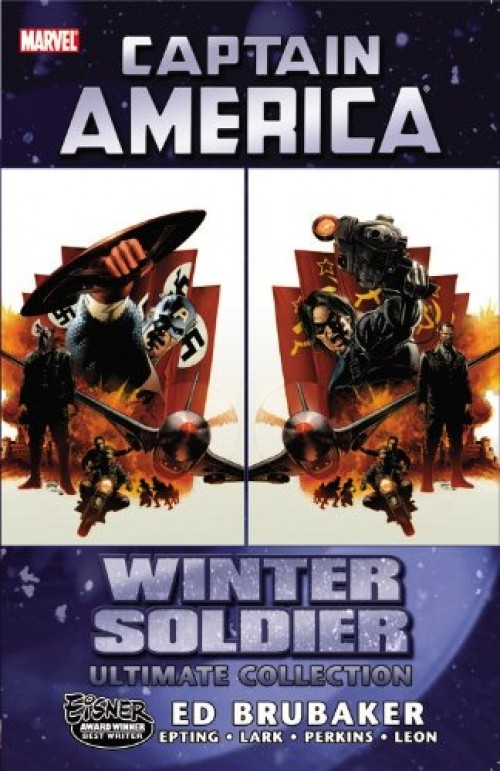 Couverture de Captain America (2005) -ULT01- Winter soldier Ultimate collection
