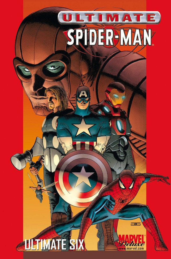 Couverture de Ultimate Spider-Man (Marvel Deluxe) -5- Ultimate Six