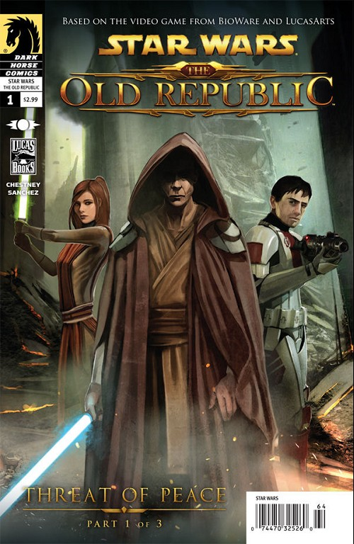 Couverture de Star Wars: The Old Republic (2010) -1- Threat of Peace 1