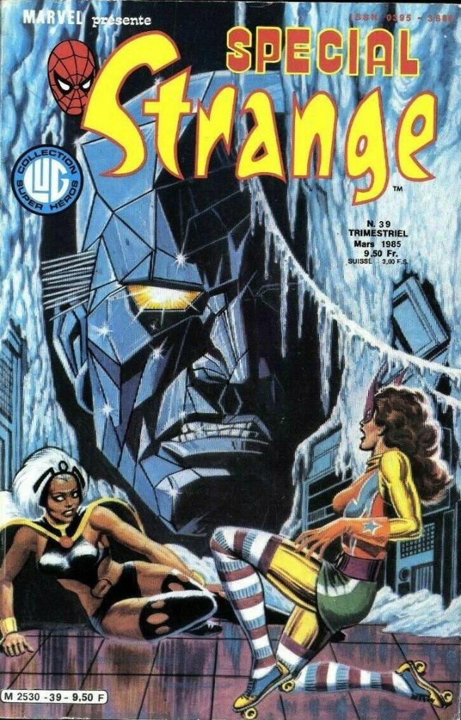 Couverture de Spécial Strange -39- Spécial Strange 39